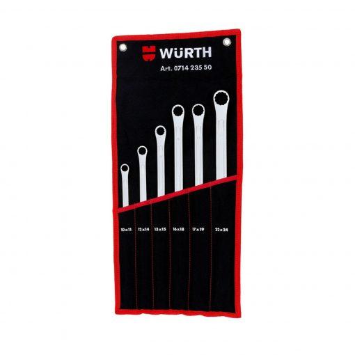 مجموعه 6 عددی آچار رینگی وورث مدل 71423550