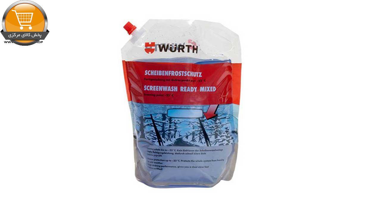 محلول شیشه شوی ضد یخ وورث مدل 892332810 حجم 3 لیتر