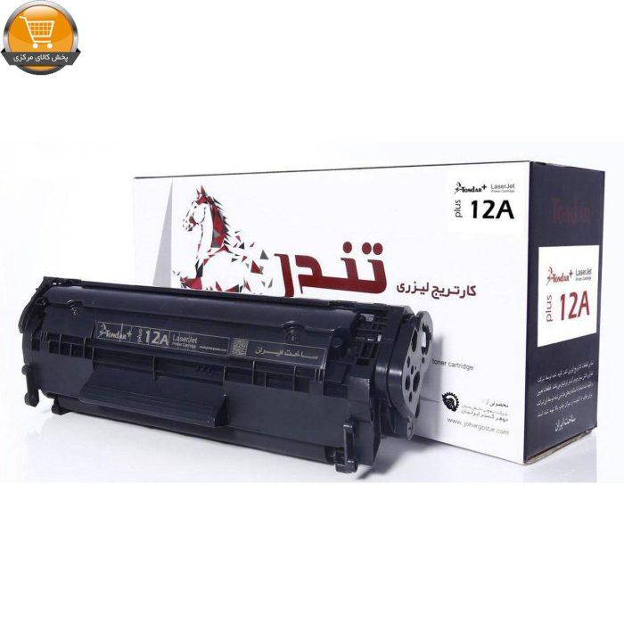 تونر-مشکی-تندر-مدل-12A-ظرفیت2500-برگی-گارانتی-دوساله-تعویض