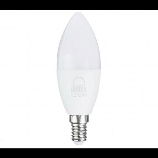 -لامپ-ال-ای-دی-7-وات-بروکس-مدل-C37-1740-پایه-E14-پخش کالای مرکزی