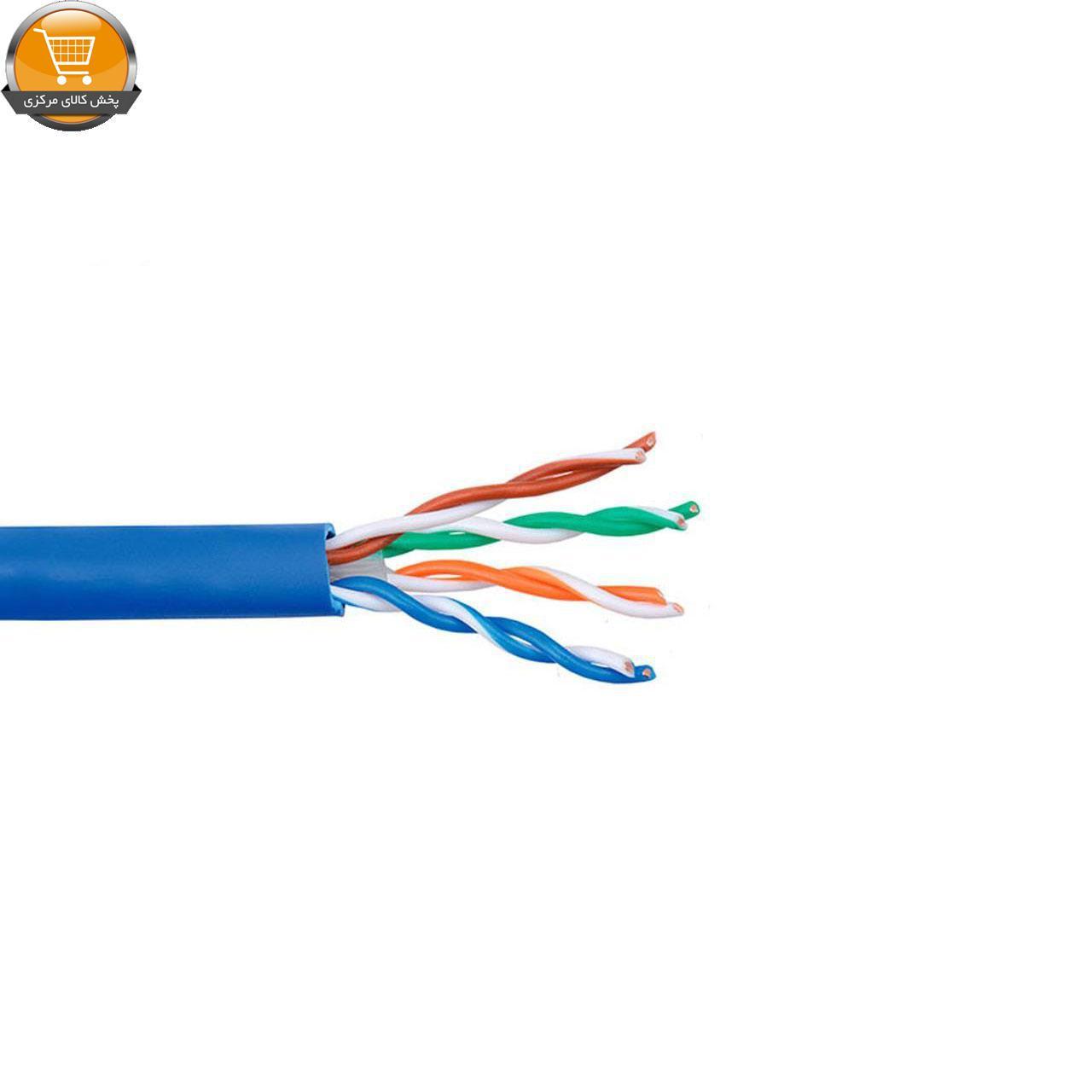 کابل شبکه Cat 6 UTP لگرند تست فلوک به طول ۳۰۵ متر |