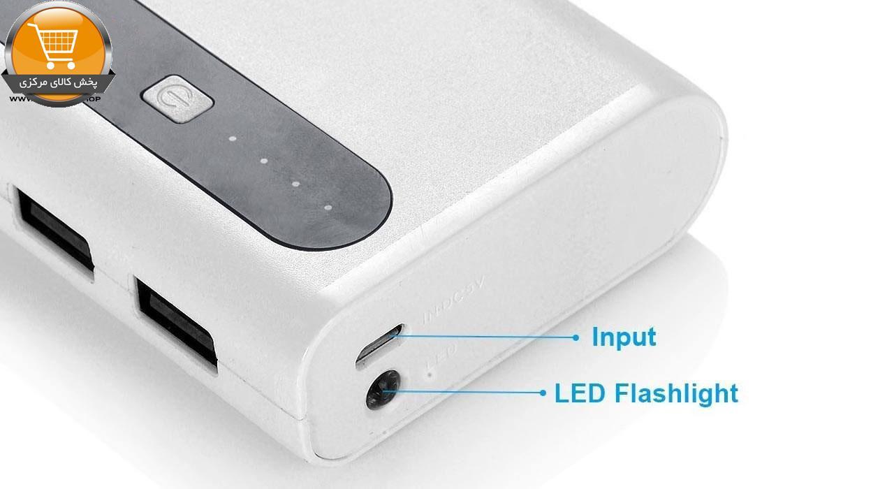 شارژر همراه ایبیکن مدل WX010 ظرفیت 10000 میلی آمپر ساعت  پخش کالای مرکزی