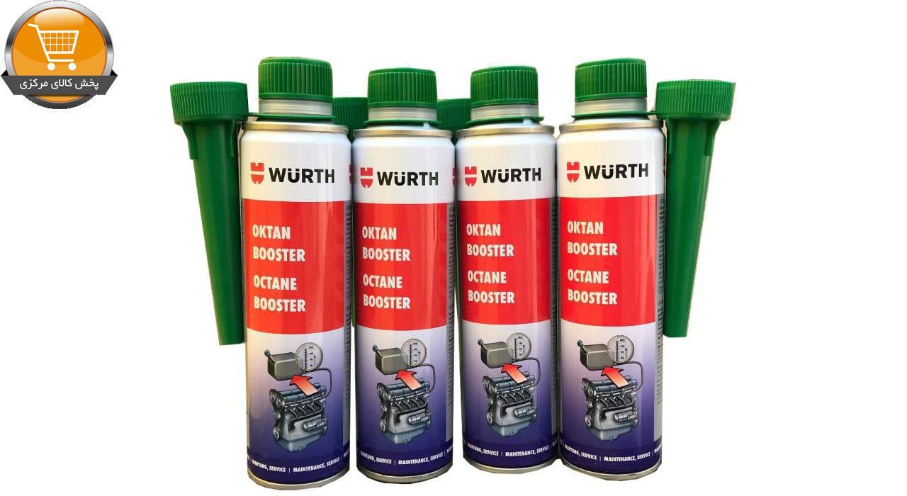 مکمل سوخت وورث مدل 5861103300 حجم 300 میلی لیتر بسته 4 عددی