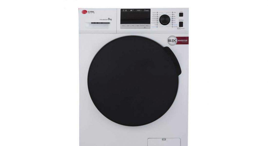 ماشین لباسشویی کرال مدل TFW-48403 ظرفیت 8 کیلوگرم