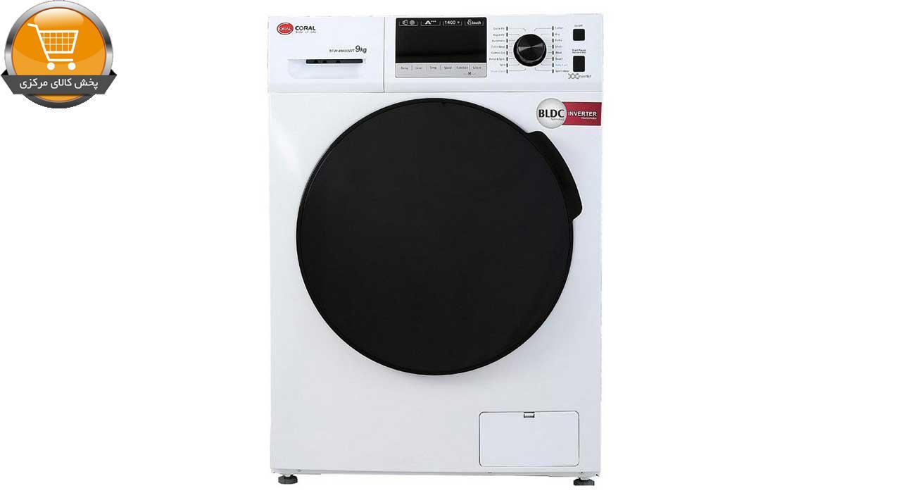 ماشین لباسشویی کرال مدل TFW 49403 ظرفیت 9 کیلوگرم