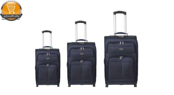 مجموعه 3 عددی چمدان تاپ یورو مدل Te-p02 | پخش کالای مرکزی