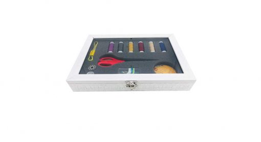 جعبه لوازم خیاطی کد 3610| پخش کالای مرکزی