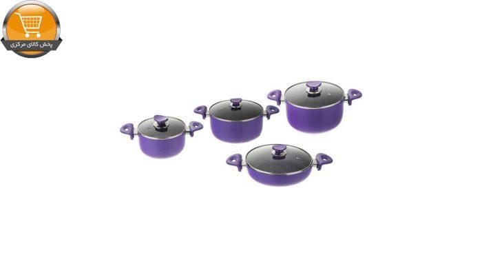 سرویس پخت و پز ۸ پارچه عروس مدل Dorsa 1 | پخش کالای مرکزی