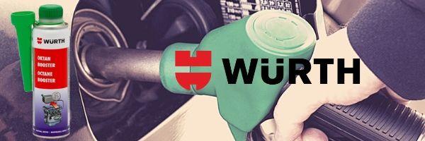 طرز استفاده از مکمل سوخت اکتان وورث (Wurth) | پخش کالای مرکزی