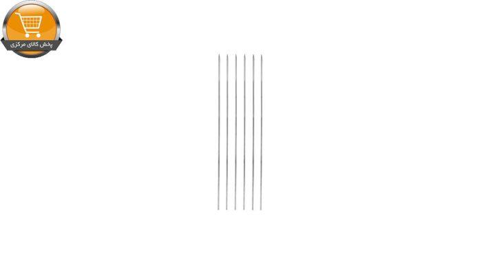 سیخ گالوانیزه جگر مدل ساده بسته 6 عددی|پخش کالای مرکزی