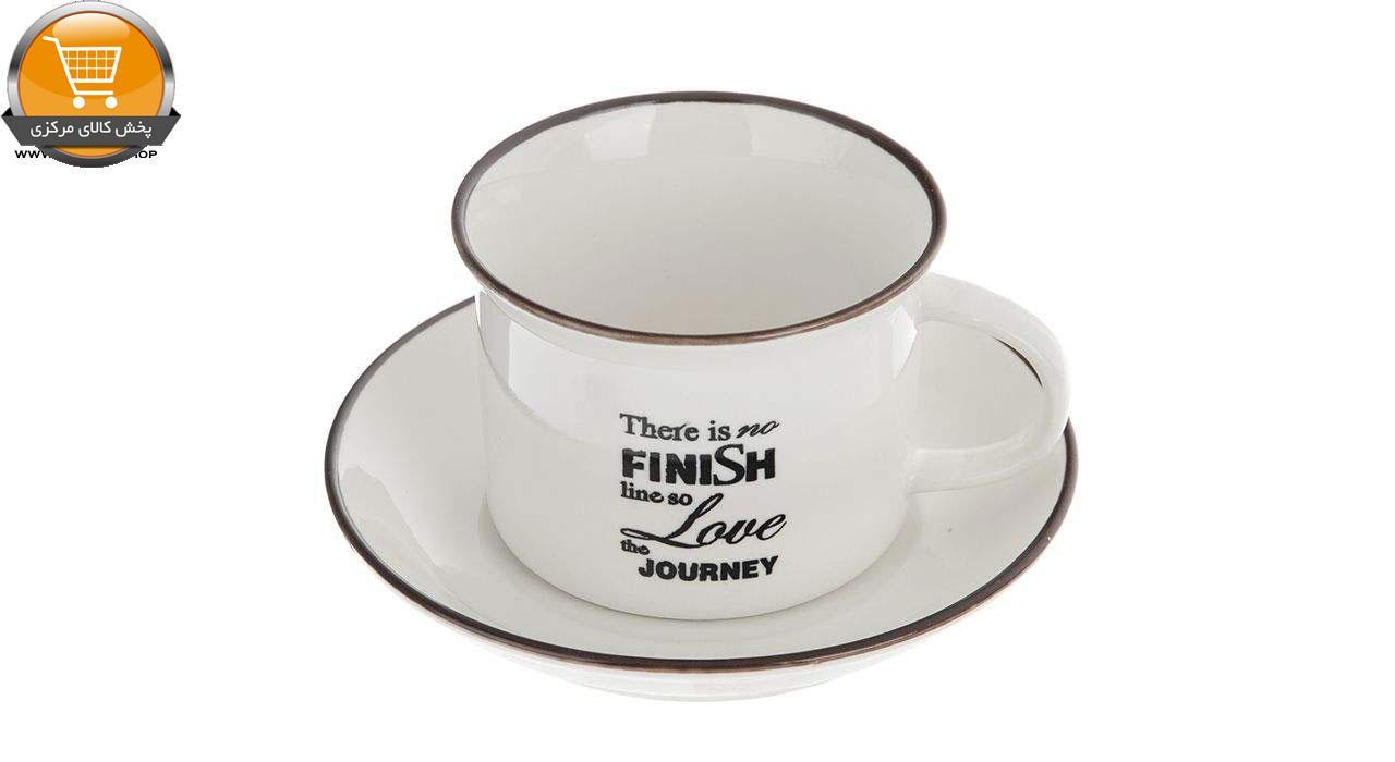 سرویس چای خوری 9 پارچه سیمپل مدل Journey