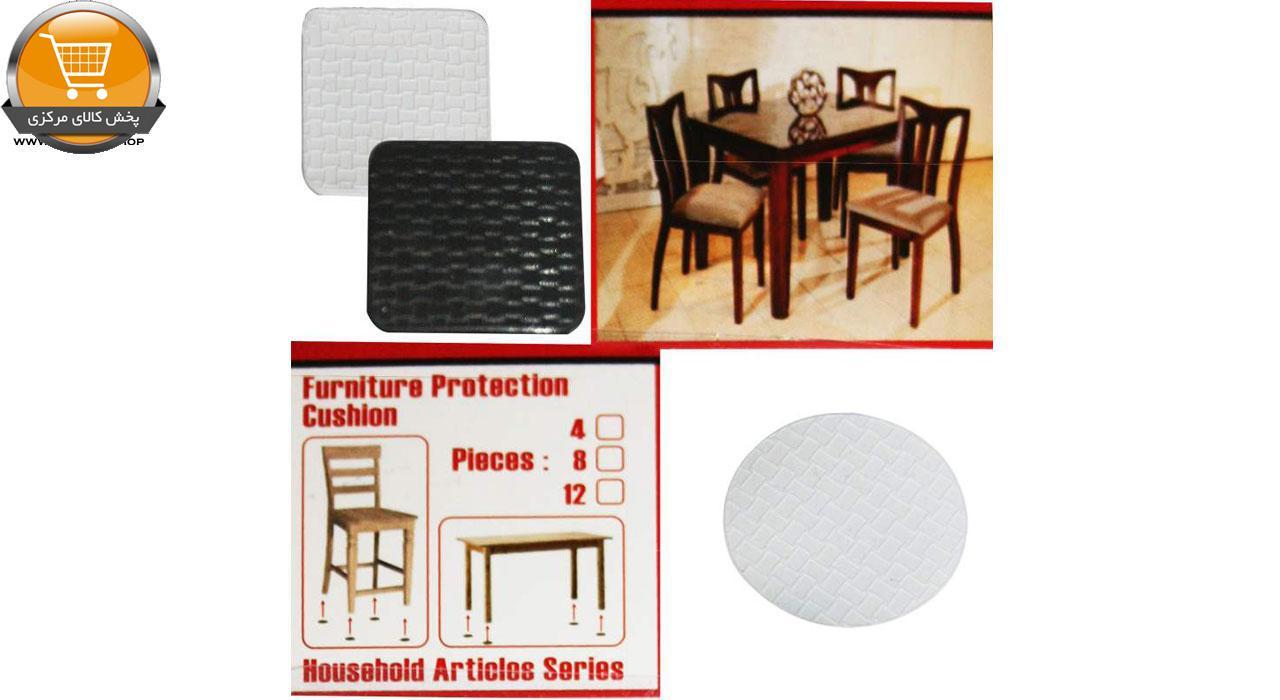 پد پایه مبل و صندلی کد 001 بسته 8 عددی