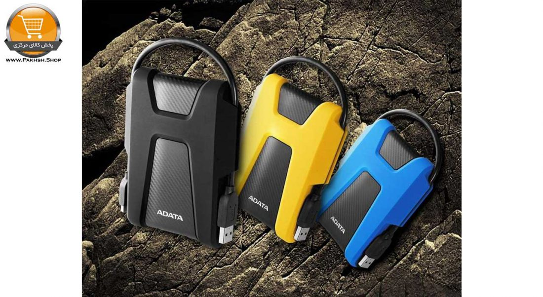 هارددیسک اکسترنال ای دیتا مدل DashDrive Durable HD680 ظرفیت 1 ترابایت پخش کالای مرکزی