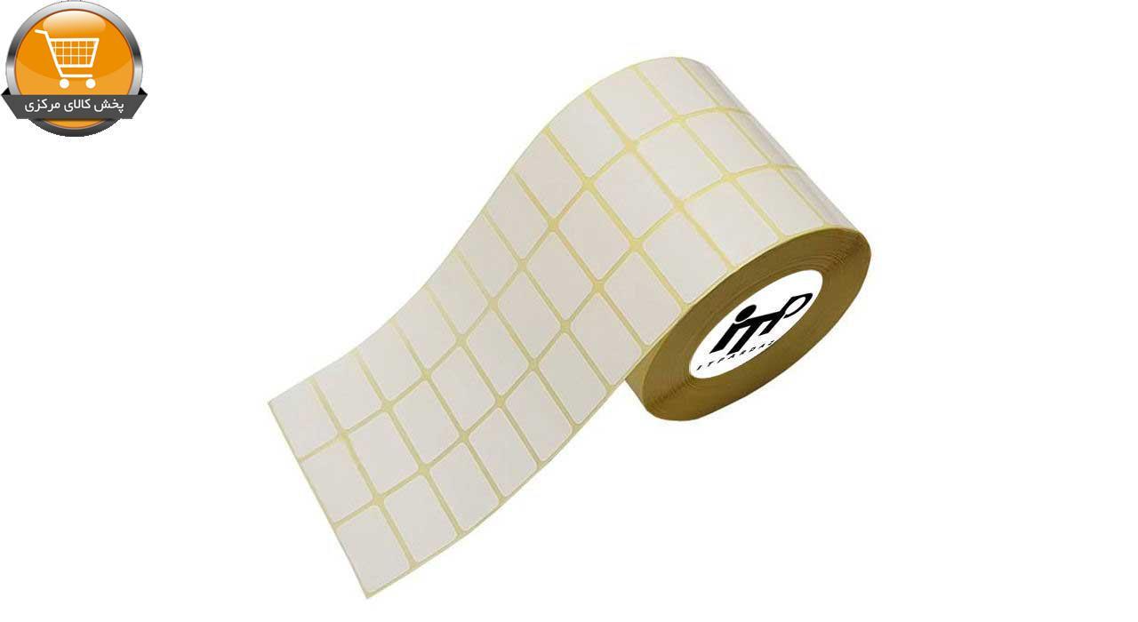 برچسب پرینتر لیبل زن آی تی پی مدل ITP3018/3 کاغذی سفید - رول 6000 عددی|پخش کالای مرکزی