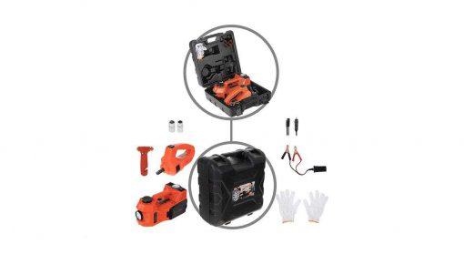مجموعه پنچرگیری کمپرسور و آچار بکس خودرو اتوویم مدل 001|پخش کالای مرکزی
