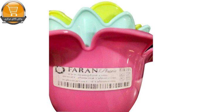 قیف فاران پلاستیک کد 235 مجموعه 3 عددی|پخش کالای مرکزی