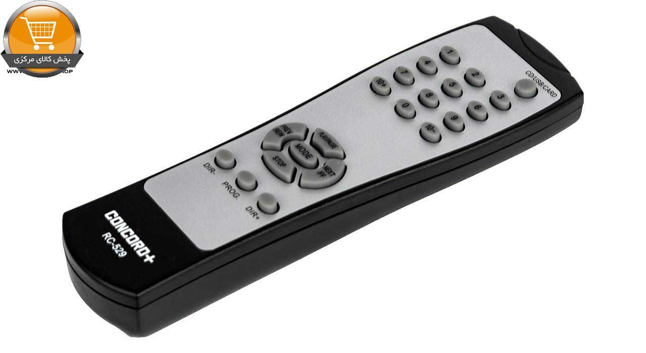 پخش کننده قابل حمل کنکورد پلاس مدل PA-M529BT|پخش کالای مرکزی