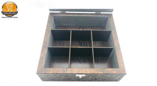 جعبه چای کیسه ای کد 3398 پخش کالای مرکزی