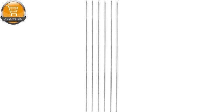 سیخ گالوانیزه جگر مدل ساده بسته 6 عددی |پخش کالای مرکزی