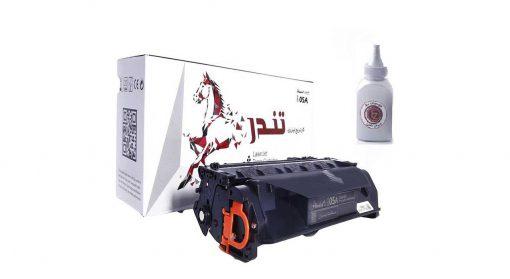 تونر تندر مشکی مدل 05A به همراه تونر شارژ 100 گرمی |پخش کالای مرکزی