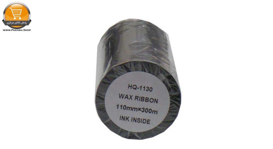 ریبون پرینتر لیبل زن مدل Wax 110mm x 300m  پخش کالای مرکزی