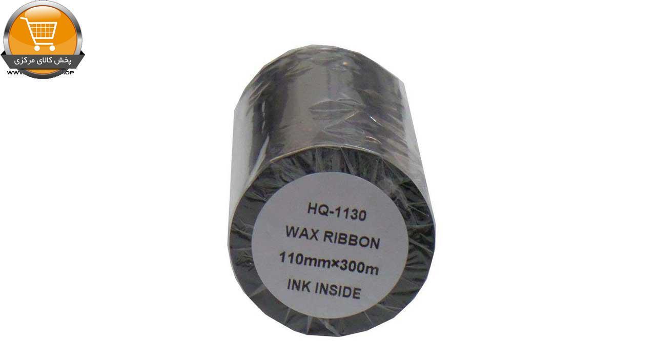 ریبون پرینتر لیبل زن مدل Wax 110mm x 300m |پخش کالای مرکزی