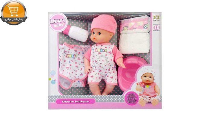 عروسک نوزاد یوکوکا مدل BABY UKOKA 8019 | پخش کالای مرکزی