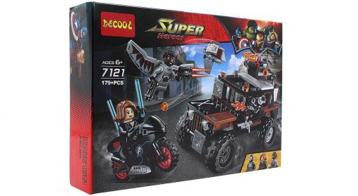 ساختنی دکول مدل Super Heroes 7121 | پخش کالای مرکزی