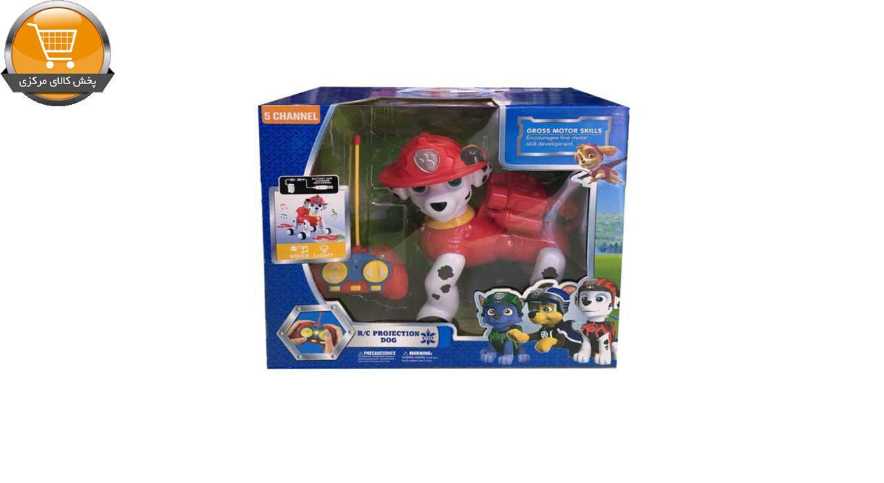 عروسک کنترلی سگ های نگهبان مدل marshal پخش کالای مرکزی