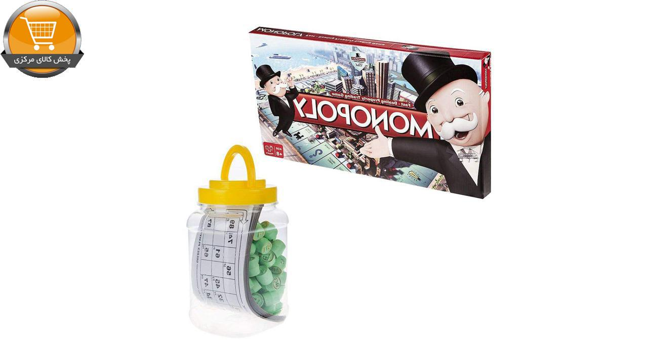 بازی فکری مونوپولی کد 7184 به همراه دبرنا