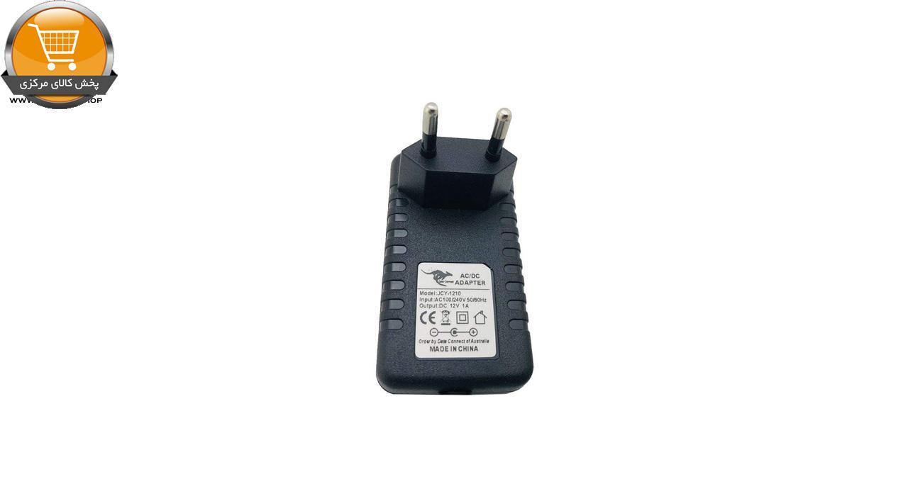 آداپتور 12 ولت 1 آمپر دیتا کانکت مدل HKS-PL01 کد 8155