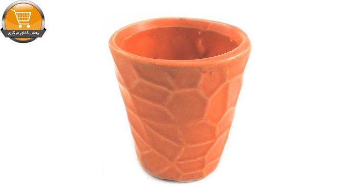 گلدان استوانه ای طرح کویری | پخش کالای مرکزی