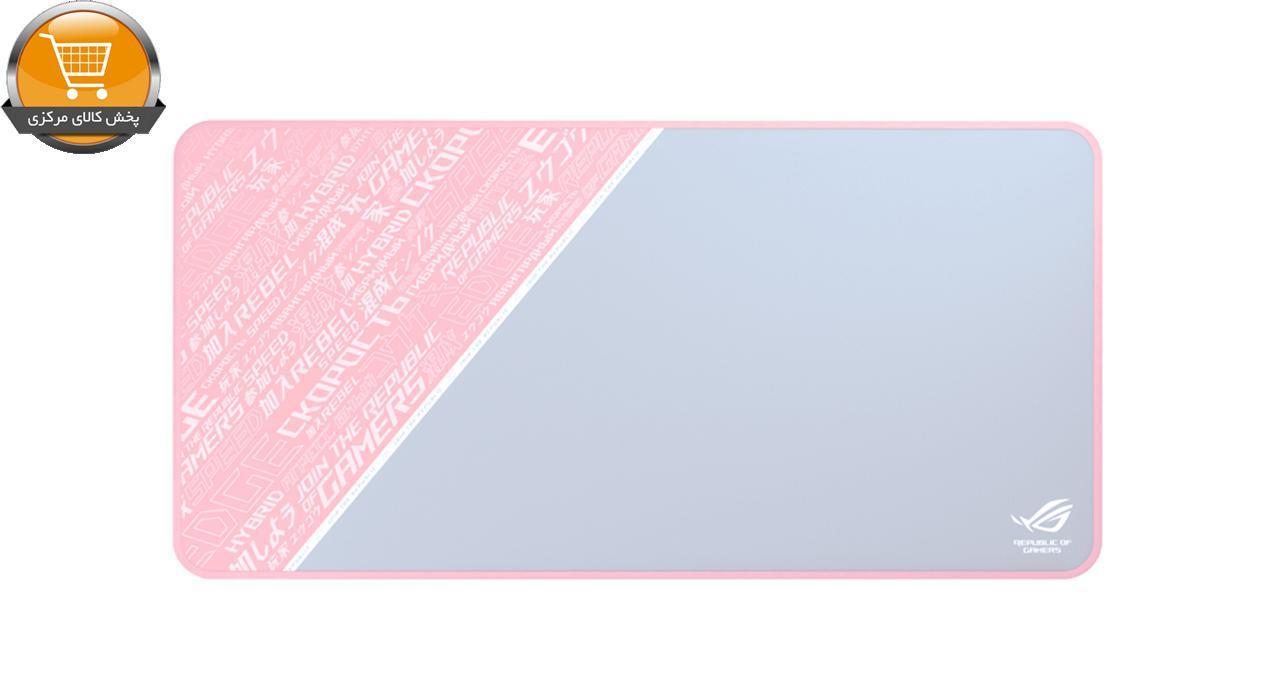 ماوس پد ایسوس مدل ROG Sheath PINK LTD