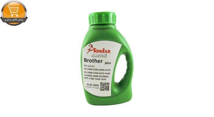 پودر شارژ مشکی 100 گرمی تندر کد 8188 | پخش کالای مرکزی