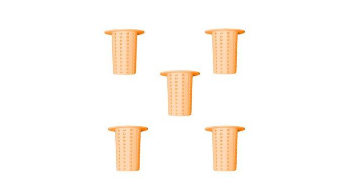 فیلتر کف شوی حمام کمیکس مدل 3731 بسته ی پنج عددی | پخش کالای مرکزی
