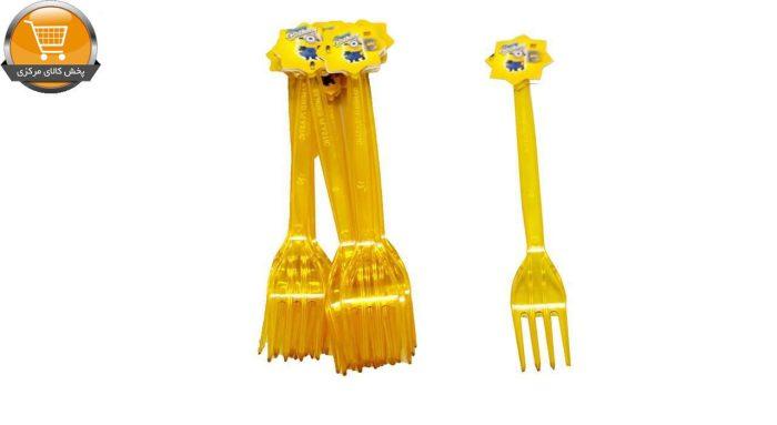 چنگال ایرسا مدل Minion بسته 12 عددی | پخش کالای مرکزی