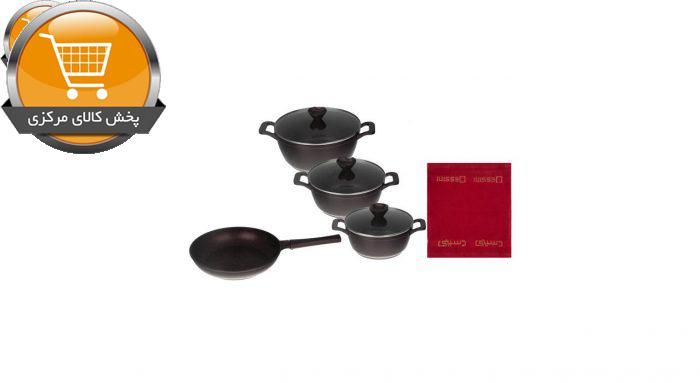 سرویس پخت و پز 8 پارچه دسینی مدل Locca-02