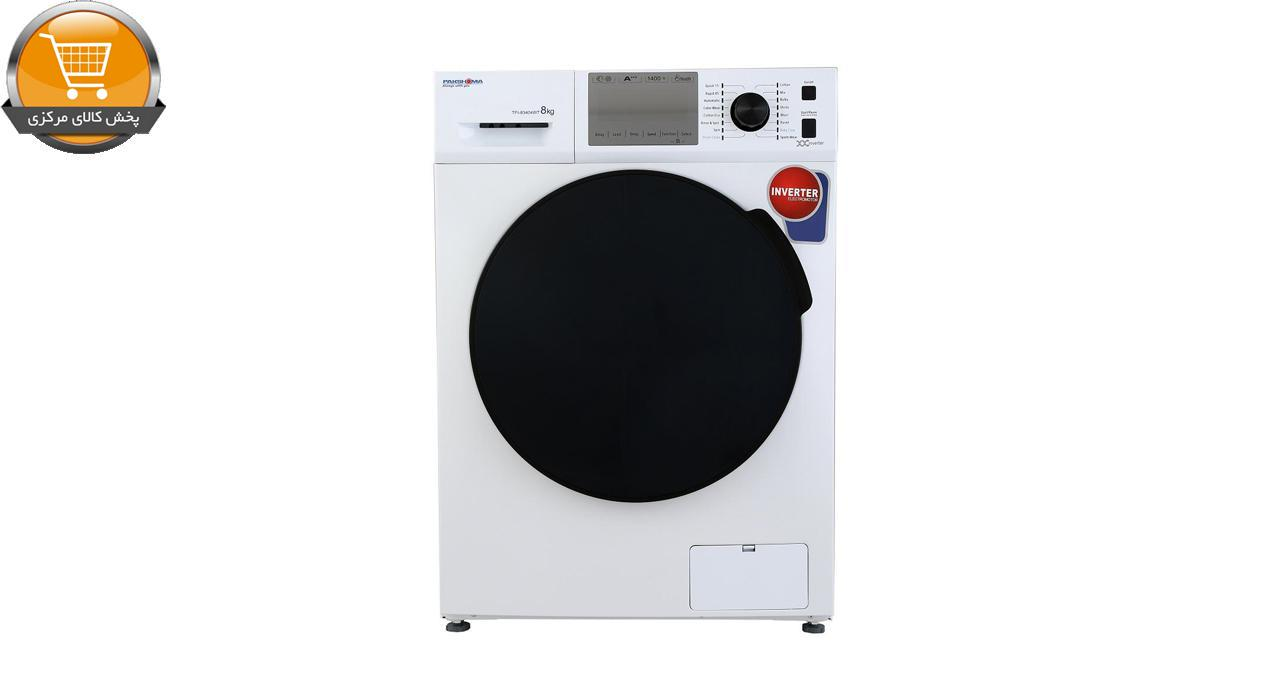 لباسشوییاتوماتTFI-83404 WT-8Kgسفید درب کروم | پخش کالای مرکزی