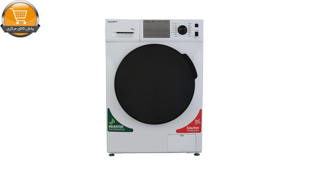 لباسشوییاتوماتTFI-93405 WT-9Kgسفید درب کروم | پخش کالای مرکزی
