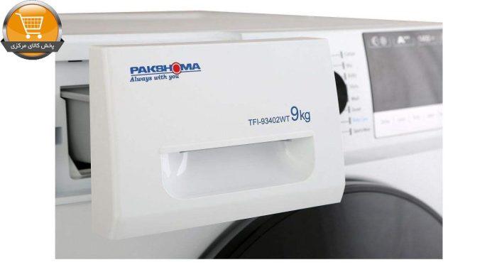 لباسشوییاتوماتTFI-93402 ST-9Kgسیلور درب کروم | پخش کالای مرکزی