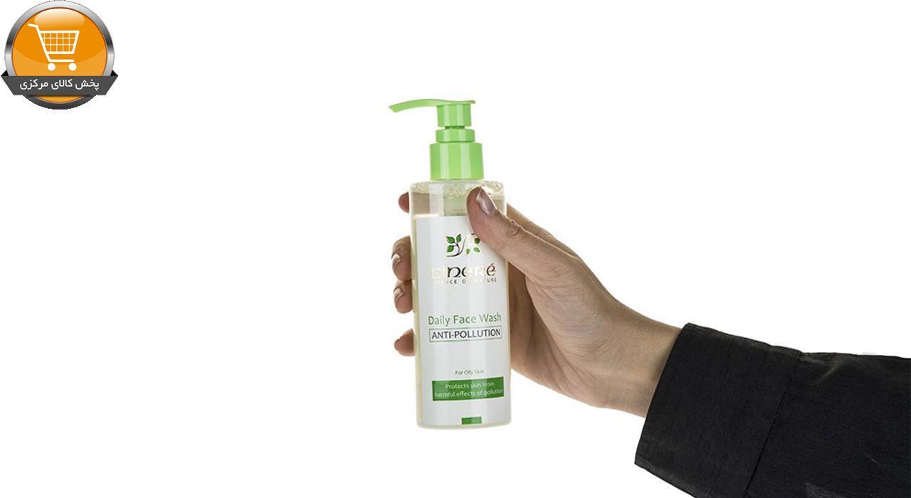 ژل شست و شوی صورت ضد آلودگی سینره مدل Oily Skin حجم 200 میلی لیتر