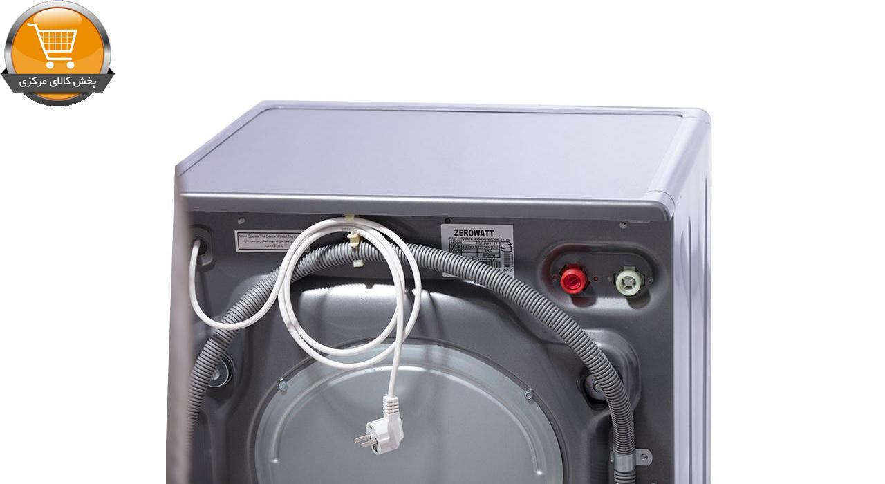 لباسشوییاتوماتOZ-1272ST-7Kg سیلور درب کرومZEROWAT | پخش کالای مرکزی