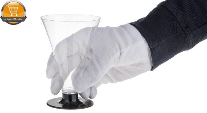 لیوان یکبار مصرف کوشا مدل Mehrsa E108 بسته 6 عددی