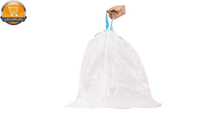 کیسه زباله کوالا مدل بند دار کد 187-2 2 بسته 15 عددی