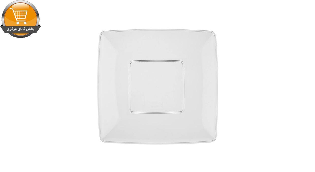 بشقاب یکبار مصرف کوشا مدل Lux 0454 بسته 6 عددی | پخش کالای مرکزی