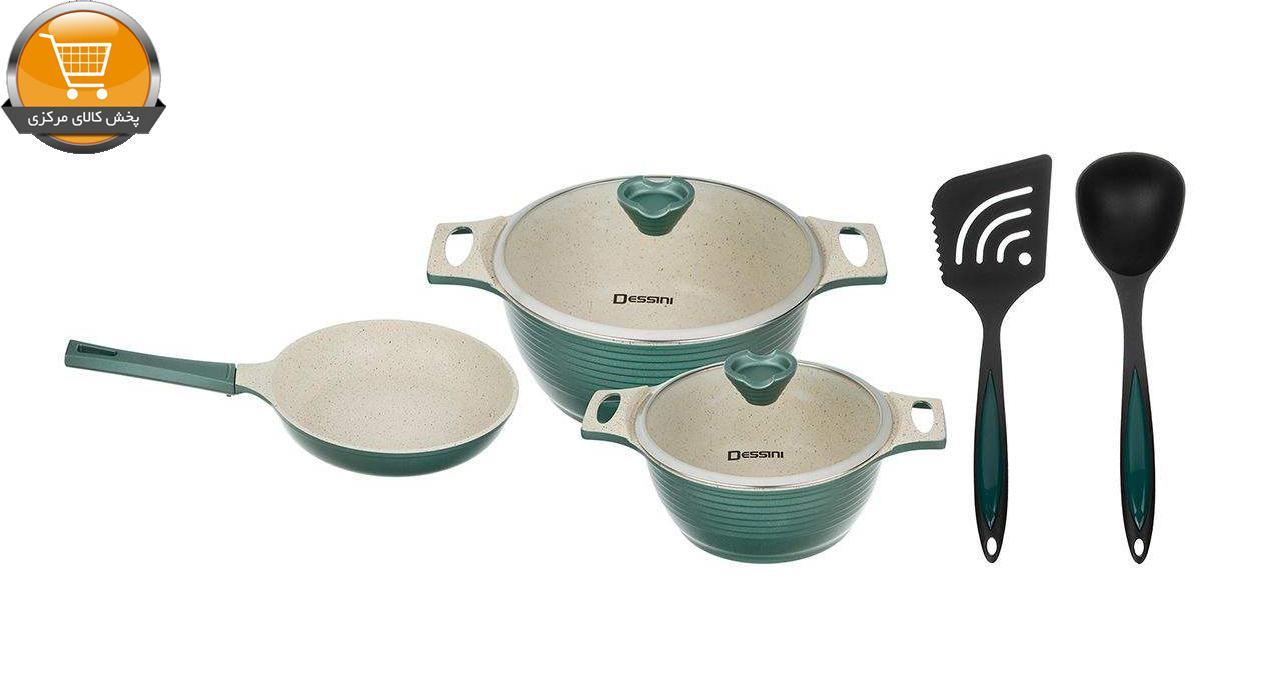 سرویس پخت و پز 7 پارچه دسینی مدل Veneto