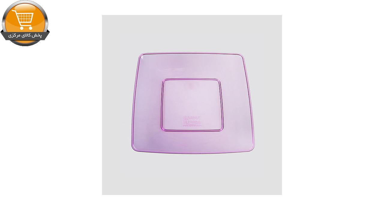 بشقاب یکبار مصرف کوشا کد E109R - بسته 10 عددی | پخش کالای مرکزی