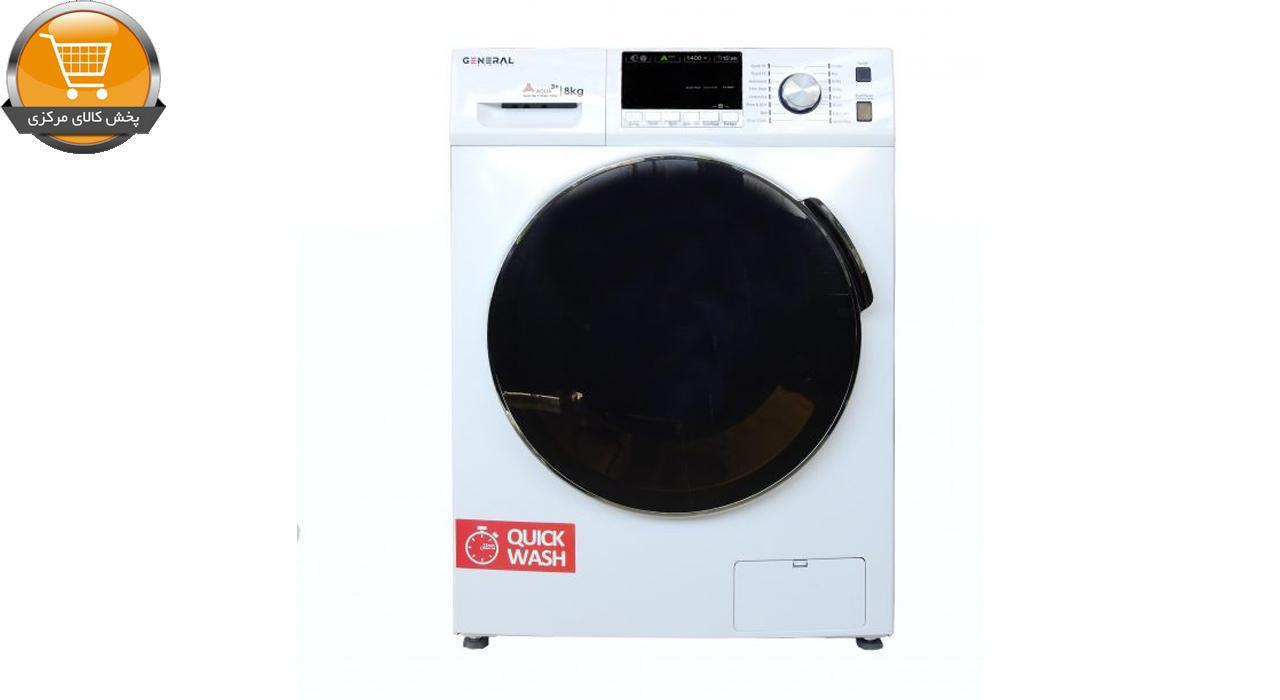لباسشوییاتومات FTU-4806 WT-8Kg سفید درب کروم | پخش کالای مرکزی