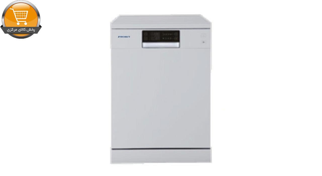 ماشین ظرفشویی14نفره ZDM-3314W سفید ZEROWAT | پخش کالای مرکزی