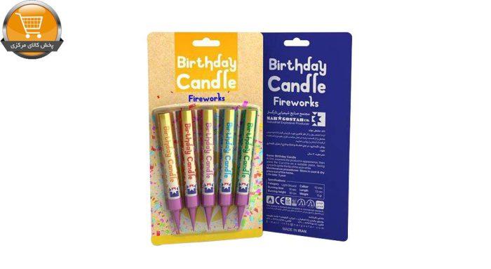 شمع تولد مدل 7228 بسته 5 عددی | پخش کالای مرکزی